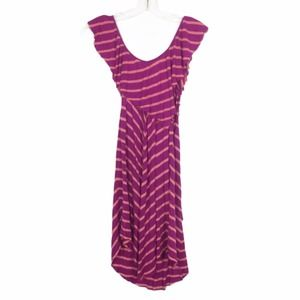 Free People Beach Striped Dress/Cover Up